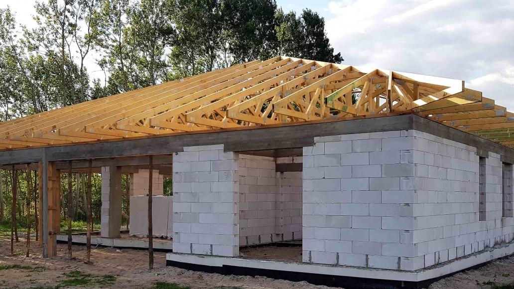 dach domu w ludwikowie 2