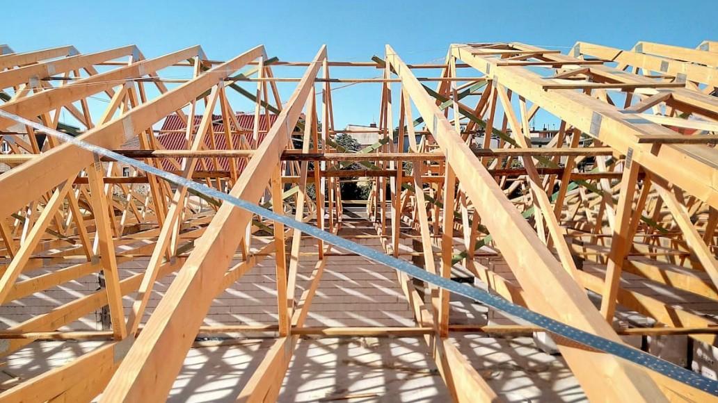 więźba dachowa Pawilon Tuchola