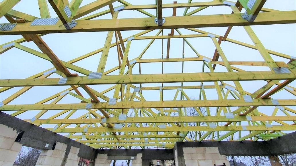 dach z drewna w ksawerowie(3)