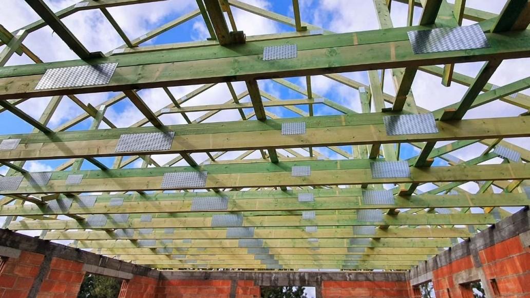 konstrukcja dachu domu świątniki(3)