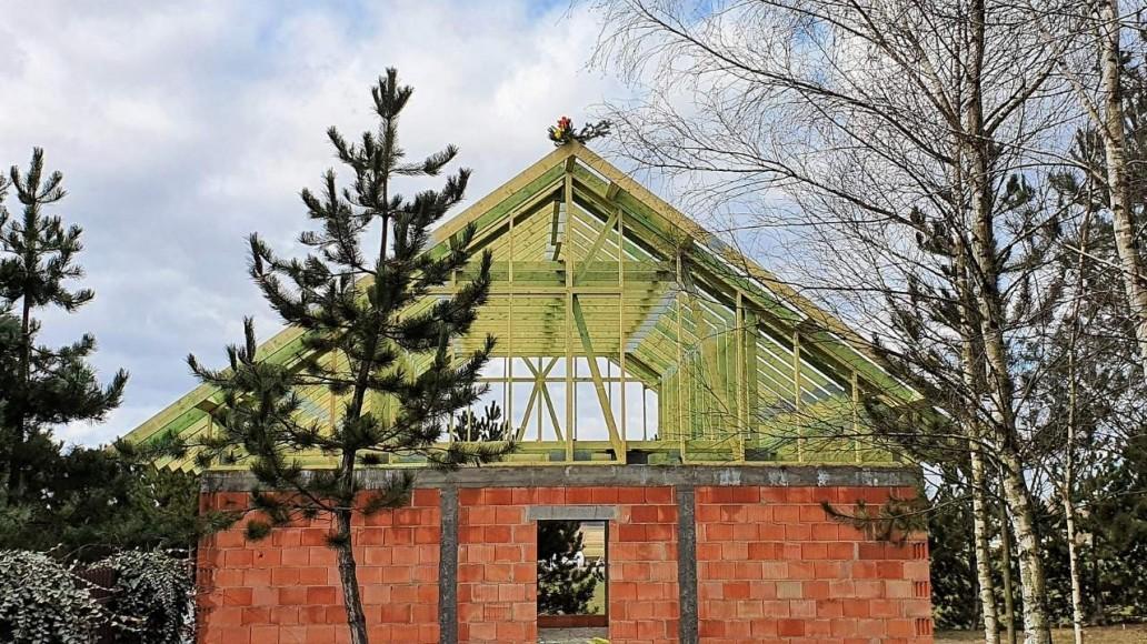 konstrukcja dachu domu świątniki(1)