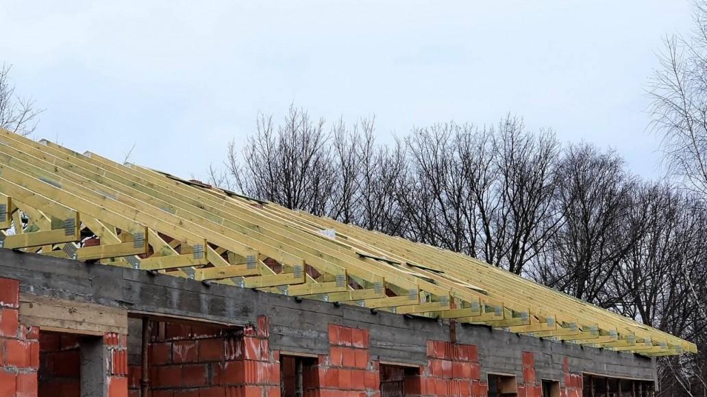 szkielet dachu łódź romanowska