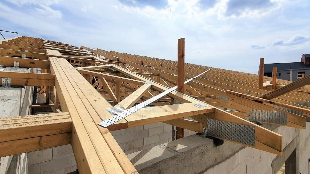 drewniany system dachowy łódź