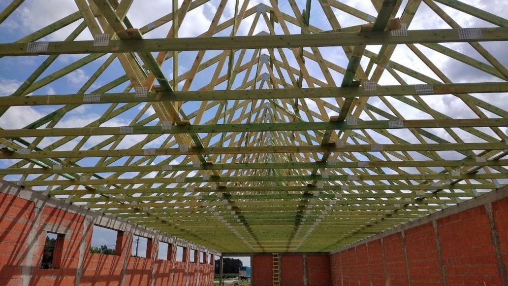 prefabrykowany dach pawilon handlowy(1)