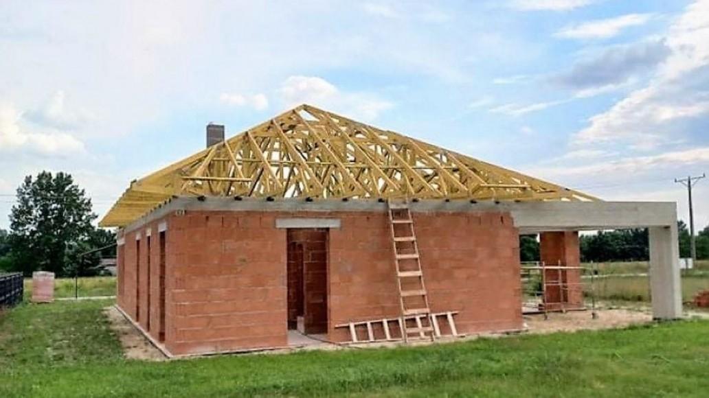 konstrukcja dachu dom kałduny(2)