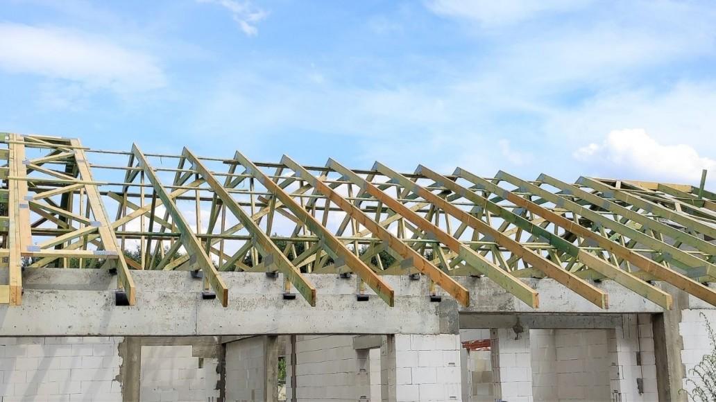 konstrukcja dachu domu w aleksandrowie łódzkim(2)