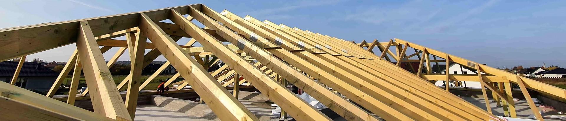 Realizacja dachu domu w Starowej Górze