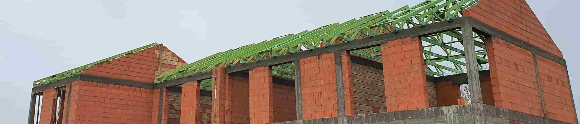 Część druga realizacji na osiedlu domków jednorodzinnych w mieście Łódź