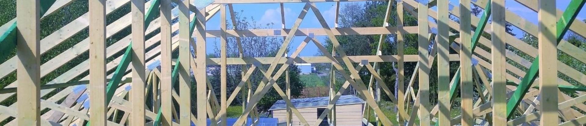 Realizacja dachu domu mieszkalnego w miejscowości Paprotnia