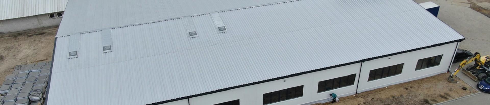 Budowa hali produkcyjnej drukarni w m. Łódź