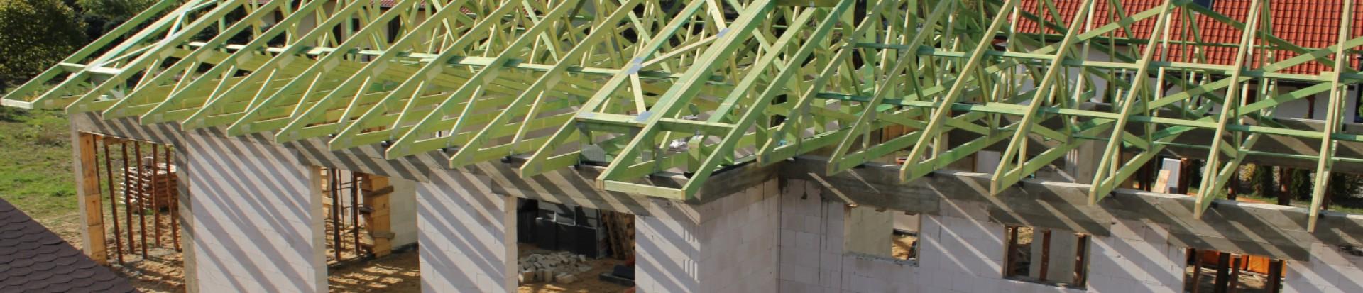 Realizacja dachu budynku w miejsc. Zofiówka