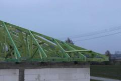 drewniana konstrukcja dachowa w zerominie 2