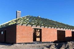 dach domu topola katowa
