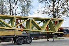 transport wiązarów dachowych (2)