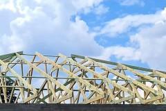 dach z drewna besiekierz