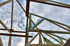 wiązarowa konstrukcja dachu w rydzynach (4)