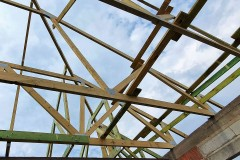 wiązarowa konstrukcja dachu w rydzynach (7)