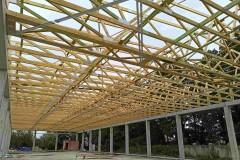 dach pawilonu handlowego warszawa