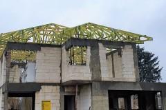 dach z drewna w ksawerowie(2)