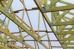 dach z drewna w ksawerowie(1)
