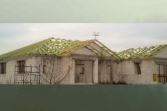 drewniany dach domu wolica (1)