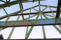 konstrukcja dachu domu świątniki(4)