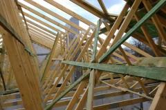 dach drewniany pawilonu aldi bełchatów(3)