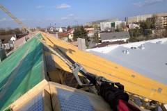 dach drewniany pawilonu aldi bełchatów(4)