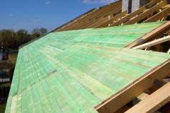 dach drewniany pawilonu aldi bełchatów(1)