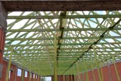 prefabrykowany dach pawilon handlowy(2)