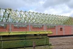 prefabrykowany dach pawilon handlowy
