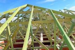konstrukcja dachu dom kałduny