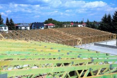 konstrukcja dachu pawilon handlowy leżajsk(2)