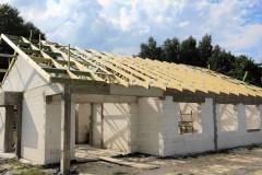 konstrukcja dachu domu w aleksandrowie łódzkim