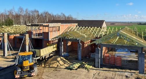 Realizacja domu jednorodzinnego w Tuszynku Majorackim