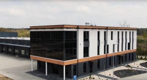 Realizacja centrum logistyczno-biurowego w Sochaczewie - zobacz wideo!