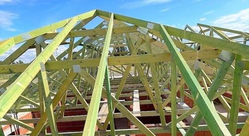 Realizacja dachu domu mieszkalnego w Kałdunach w województwie łódzkim