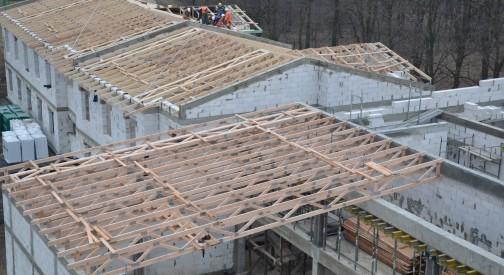 Konstrukcja zadaszenia kompleksu sportowo-hotelowego w Łodzi