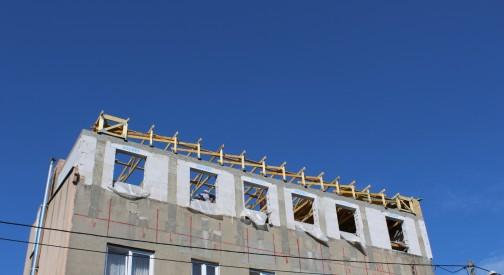 Modernizacja dachu kamienicy w m. Łódź