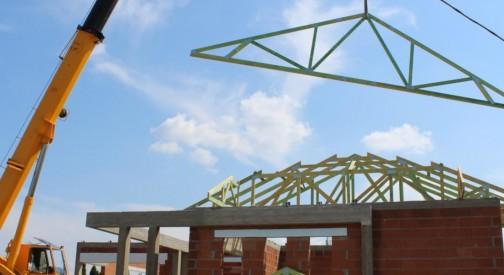 Realizacja dachu kopertowego w miejsc. Rzgów