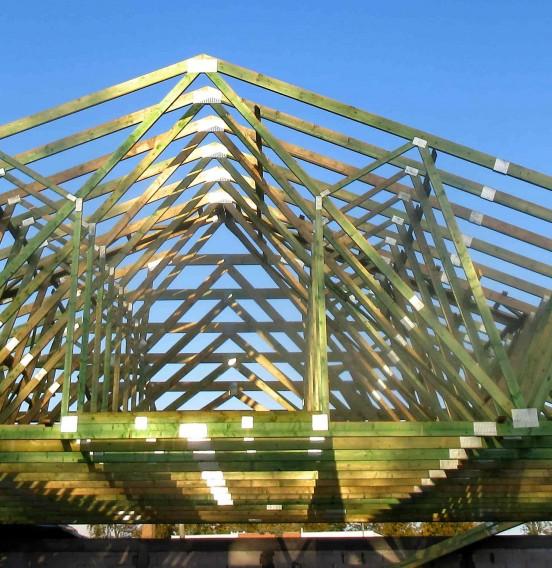 Realizacja dachu sklepu Biedronka w Słupsku