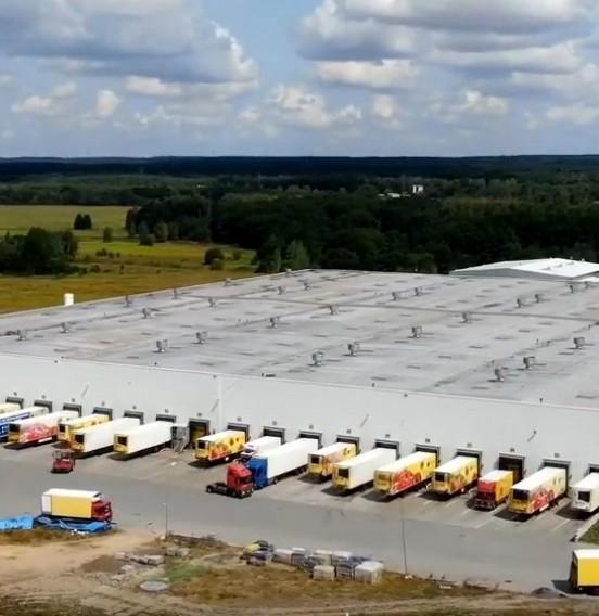 Rozbudowa Centrum Logistycznego dla znanej sieci sklepów - zobacz materiał wideo!