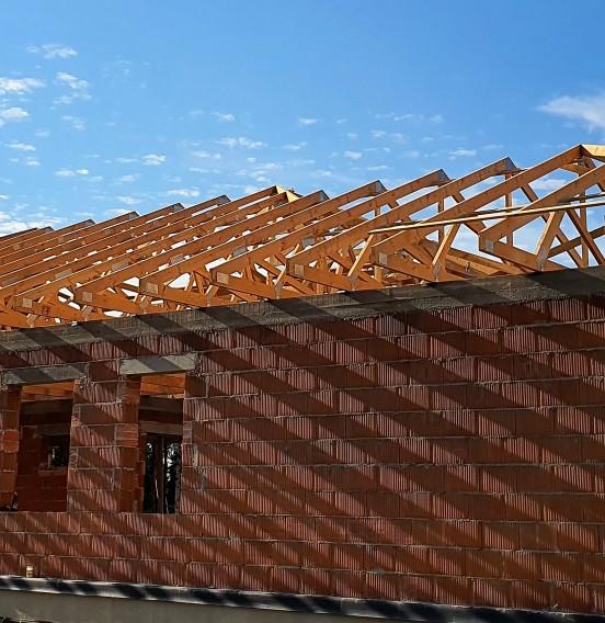 Kompleksowa realizacja dachu domu w miejscowości Gospodarz