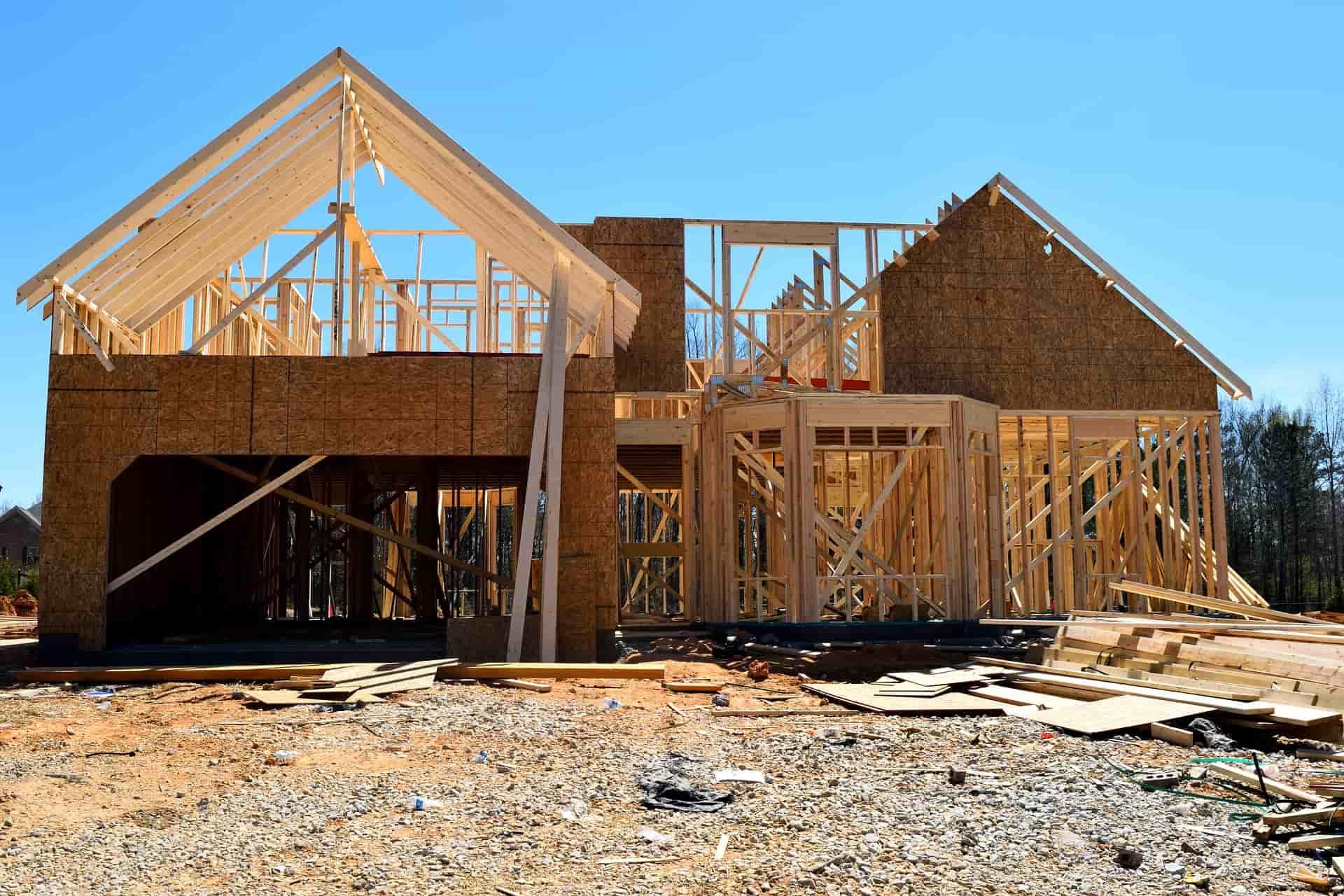 konstrukcja drewniana domu