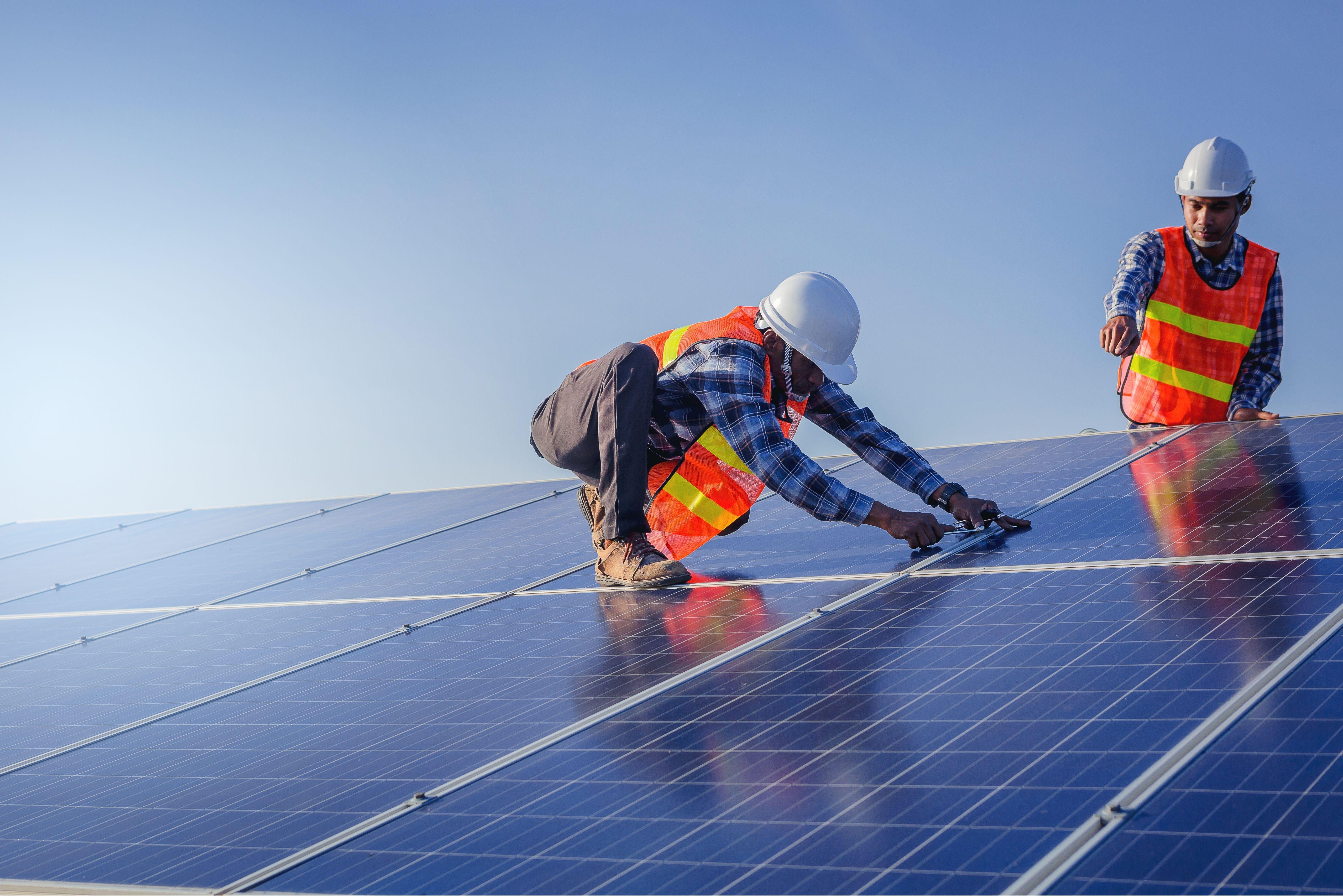 panele solarne montaż